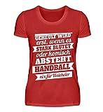 Hochwertiges Damenshirt - Handball – Nix für Weicheier