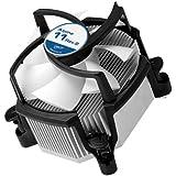 ARCTIC Alpine 11 Rev.2 - 95W Refroidisseur silencieux pour processeurs Intel - Ventilateur PWM de 92mm - Pâte thermique MX-2 Pré-appliquée