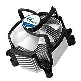 ARCTIC Alpine 11 Rev.2 - CPU kühler für Intel Sockeln, durch 92 mm PWM Lüfter bis zu 95 Watt Kühlleistung - Mit voraufgetragener MX-2 Wärmeleitpaste - Einfachen Montagesystems