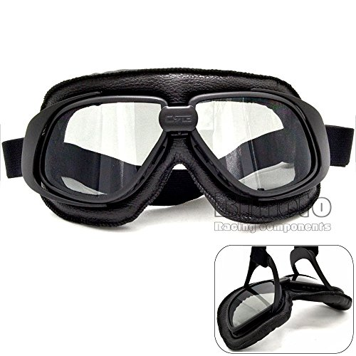 BJ Global Vintage motorcycle goggles Smoking steampunk goggles cheap coating sport sunglasses for harley,vintage pilot steampunk buy now online
