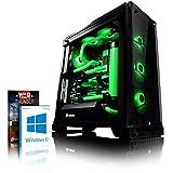 VIBOX Venom GL780T-7 Gaming PC Ordenador de sobremesa con Cupón de Juego, Win 10 (4,7GHz Intel i7 6-Core, 2X Dual SLI Gigabyte GeForce GTX 1080 Ti Tarjeta Grafica, 16GB DDR4 RAM, 1TB HDD-SSD)