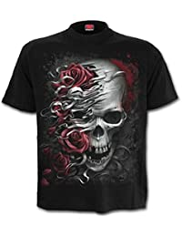 Spiral Men - Skulls N Roses - T-Shirt Black