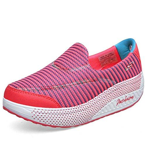 Solshine , Baskets pour femme Rouge - Rouge