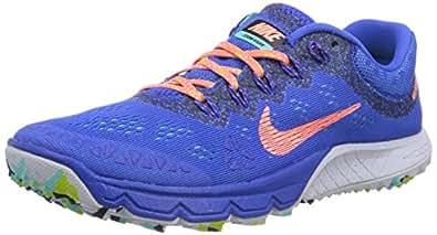 Nike Air Zoom Terra Kiger 2, Chaussures de running femme - Bleu (Hyper Cobalt/Bright Mango/Hyper Trq), 40 EU