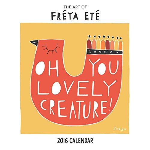 Freya Ete 2016 Wall Calendar