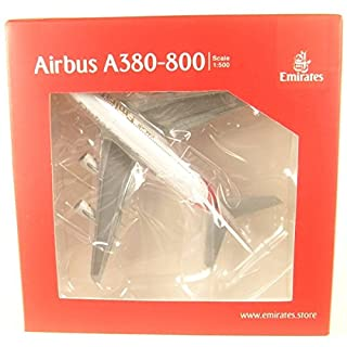 Herpa 514521-004 Emirates Airbus A380