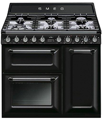 SMOKO TR93BLD Gaskocher A schwarz - Küche (freistehend, schwarz, drehbar, Front, Gaskochfeld, klein)