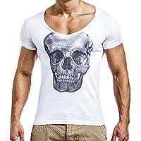 Yying Mens Slim Fit O Hals Druck Kurzarm T Shirts Muscle Fitness Lustige T- Shirt 157c32ea27