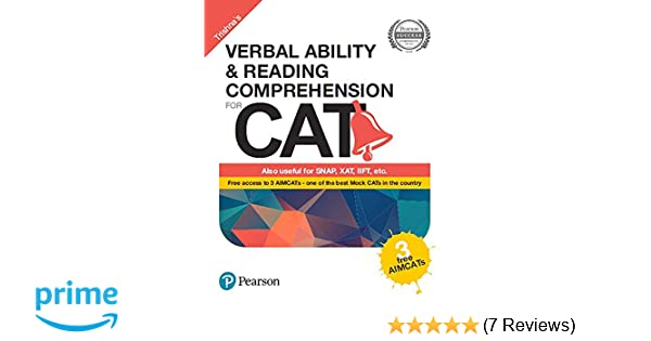 Buy Verbal Ability and Reading Comprehension for CAT by