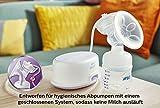 Philips Avent SCF332/01 Elektrische Einzelmilchpumpe mit Naturnah Flasche - 5