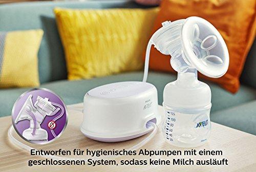 Philips Avent SCF332/31 Elektrische Komfort-Einzelmilchpumpe, weiß - 7