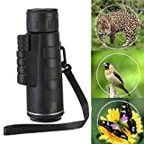 Promotion Pro Hd Telescope 18 X 62 Dual Focus Zoom Green Optic Lens Armoring Travel Monocular Night Vision Telescope(Field of View: 100M/ 8000M)
