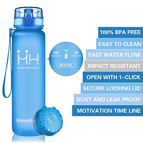 Zoom IMG-2 honeyholly bottiglia d acqua sportiva