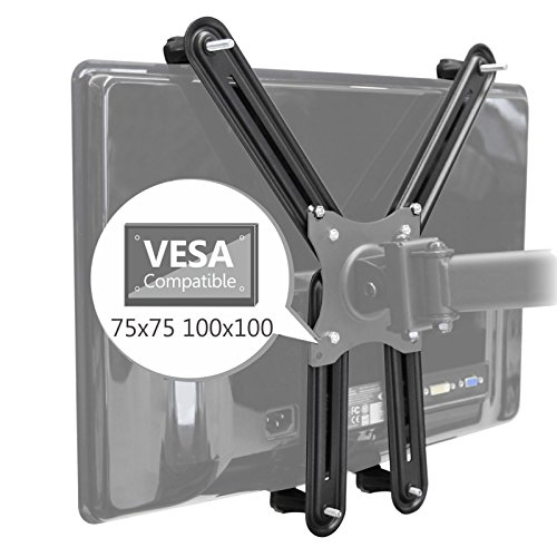 SAVONGA VESA Adapter Kit/Set 522210L für Non-VESA TV Monitore ohne VESA Löcher/Bohrungen, kompatibel mit VESA-Halterungen 100x100 75x75, Traglast bis 8 kg Adapter-kit