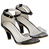 MISTO VAGON WOMEN AND GIRLS HIGH HEELS SANDALS PARTY WEAR SANDALS CASUAL SANDALS CONE HEEL SANDALS DAILY WEAR SANDALS HEELS SANDALS COLLEGE SANDALS WEDDING WEAR SANDALS IN HEELS VJ1298