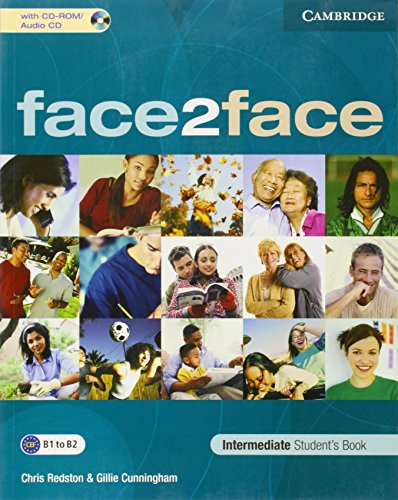 face2face Intermediate Student's Book with CD-ROM/Audio CD by Chris Redston (3-Apr-2006) Paperback