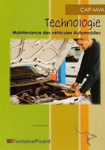Technologie Cap Maintenace des Véhicules Automobiles PDF Books