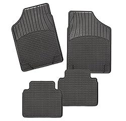 CarFashion Allwetter Schalenmatte B2, Auto Fussmatten Set in schwarz, 4-teilig, ohne Mattenhalter für  CLK-Klasse (C209),( A209)  , Baujahr 05/2002-02/2010