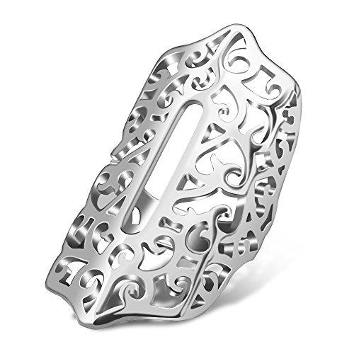 Flex 2 Armbänd Abdeckung Hülsenschutz Zubehör, CAM-ULATA Glänzendes Metall-Schmuck Schutz Hülle für Fitbit Flex 2 Fitness Armband, Silber