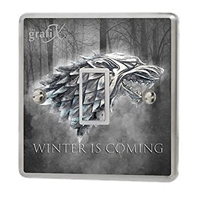 Game of thrones Winter is coming Light Switch Sticker Vinyl / Skin cover sw36