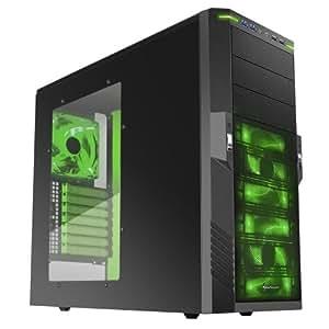 Sharkoon T9 Value Green PC-Gehäuse ATX Midi Tower