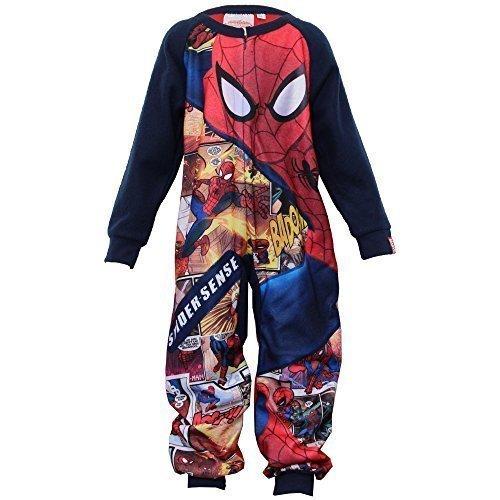 all Kinder Strampelanzug Sommer Alles In Eins Batman Strampelanzug Superheld Neu - MARINEBLAU - LANH2022, 2T (Superman Kostüm 2t)