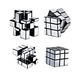 #6: Shengshou 3x3x3 Speed Silver Mirror Magic Cube ~ Fast & Smooth ~ No Stuck ~ Stickerless ~ Highly Recommended