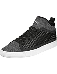 Puma Unisex Basket Classic Netfit Black Sneakers - 6 UK/India (39 EU)(36424901)