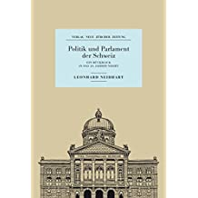 Politik und Parlament der Schweiz: Ein Rückblick in das 20. Jahrhundert