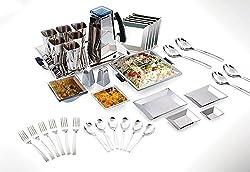 JVL SDS-9671 SQUARE DINNER SET 68PCS