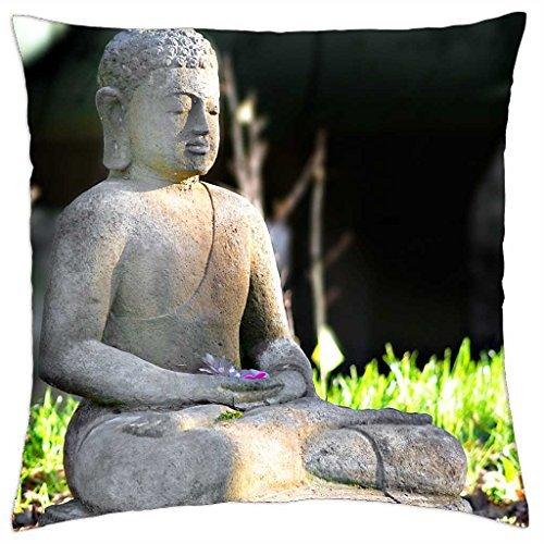 Buda profundo yogastudio - Funda de cojín (18