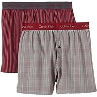 Calvin Klein underwear - WOVEN BOXER - 2P SLIM FIT