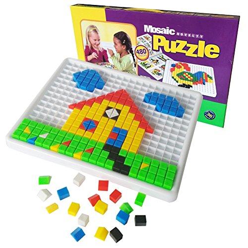 Costruzioni Giocattolo di Jigsaw Puzzle Giocattoli Plastica Gioco Educative per Bambini da 3 Anni in su, 480 Pezzi