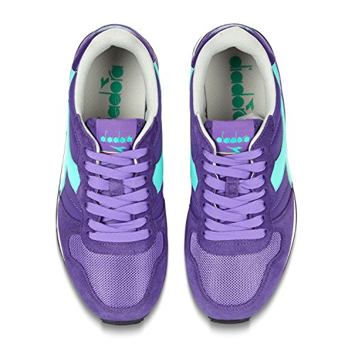 Diadora Camaro, Sneaker Uomo Viola/Verde
