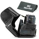 MegaGear Bolsa de Funda Protectora Para Canon PowerShot SX60 HS Cámara compacta (Negro)