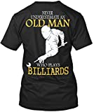Stylisches T-Shirt Damen / Herren / Unisex - 4XL - Billiards Old Man Shirt