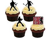 Made4You Elvis Presley silhouettes, décorations de gâteaux...