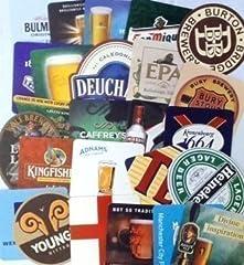 Idea Regalo - Pub tradizionale Beer Mats (confezione da 25) - serie 4