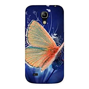 Yellowish Butterfly Back Case Cover for Galaxy S4 Mini