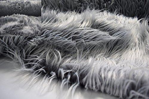 Fabrics City Blanco flokati Lanuda Pelo Piel pelo