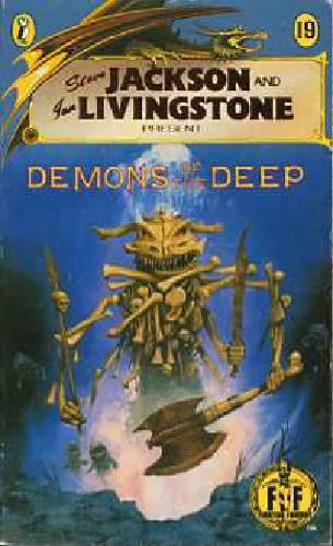 Demons of the Deep: Fighting Fantasy Gamebook 19 (Puffin Adventure Gamebooks) por Jackson Steve