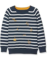 NAME IT Jungen Pullover Nitfekool Ls Knit Oneck Mini