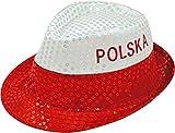 Fanartikel Pailletten Hut EM & WM Trilby Hut 7 Länder (Polen)