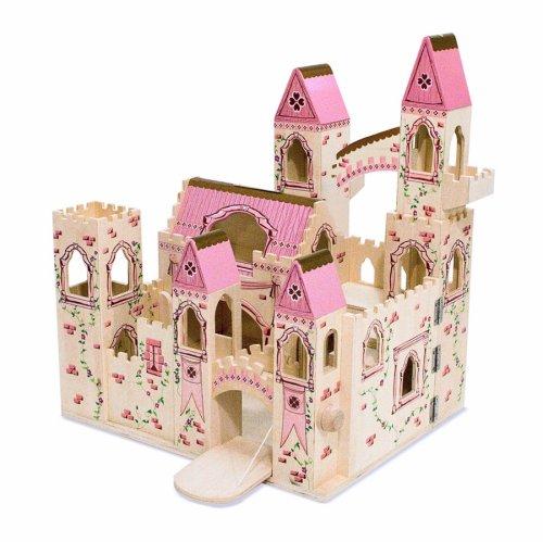 Preisvergleich Produktbild Melissa & Doug - Folding Princess Castle - Prinzessinnen Schlo zum Mitnehmen