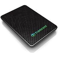 Transcend External SSD, 512GB, USB 3.0, MLC, Nero/Antracite