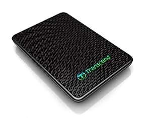 Transcend External SSD, 256GB, USB 3.0, MLC, Nero/Antracite