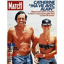 Paris Match n° 1868 du 15 Mars 1985 - ma vie avec Alain Delon (6 pages),la naissance du fils de yannick Noah; Joakim (4 pages), forets à l'agonie (10 pages), la mafia aux USA (8 pages)