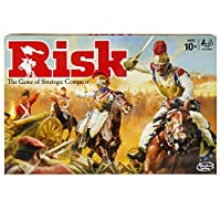 Risk-Game–Strategiespiel-UK-Edition HASBRO EUROPE TRADING BV Risk Game – Strategiespiel [UK Edition] -