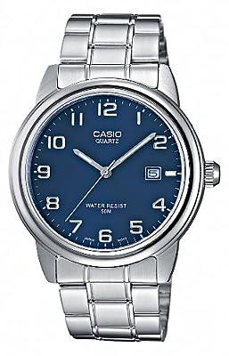 CASIO MTP1221A2AVEF - Reloj de caballero de cuarzo, correa de acero inoxidable color varios colores