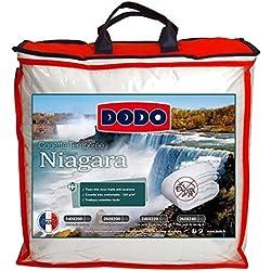Dodo NIAGARA Couette, Polyester, Blanc, 240x220 cm